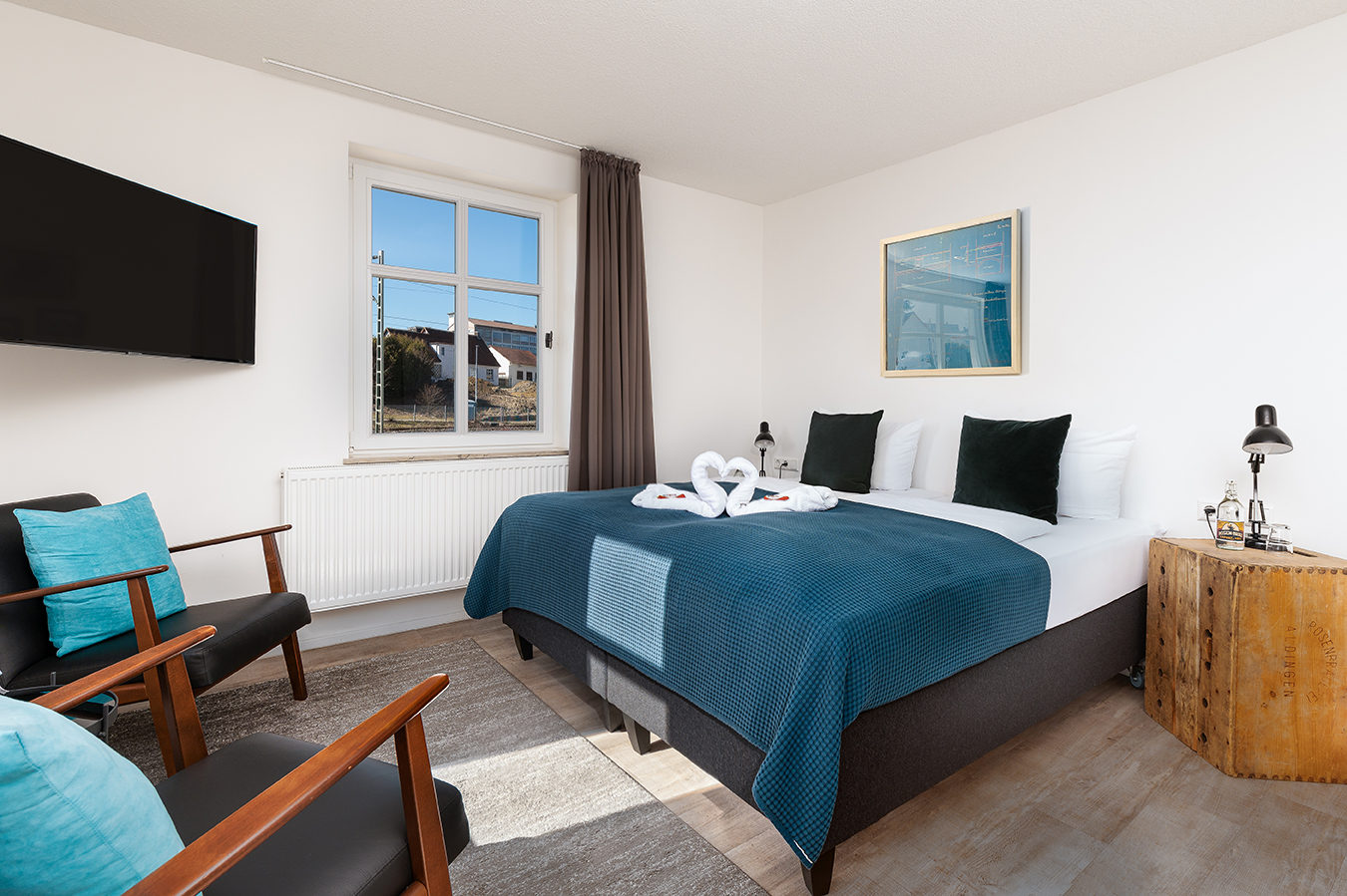 Hotel Das Q Zimmer