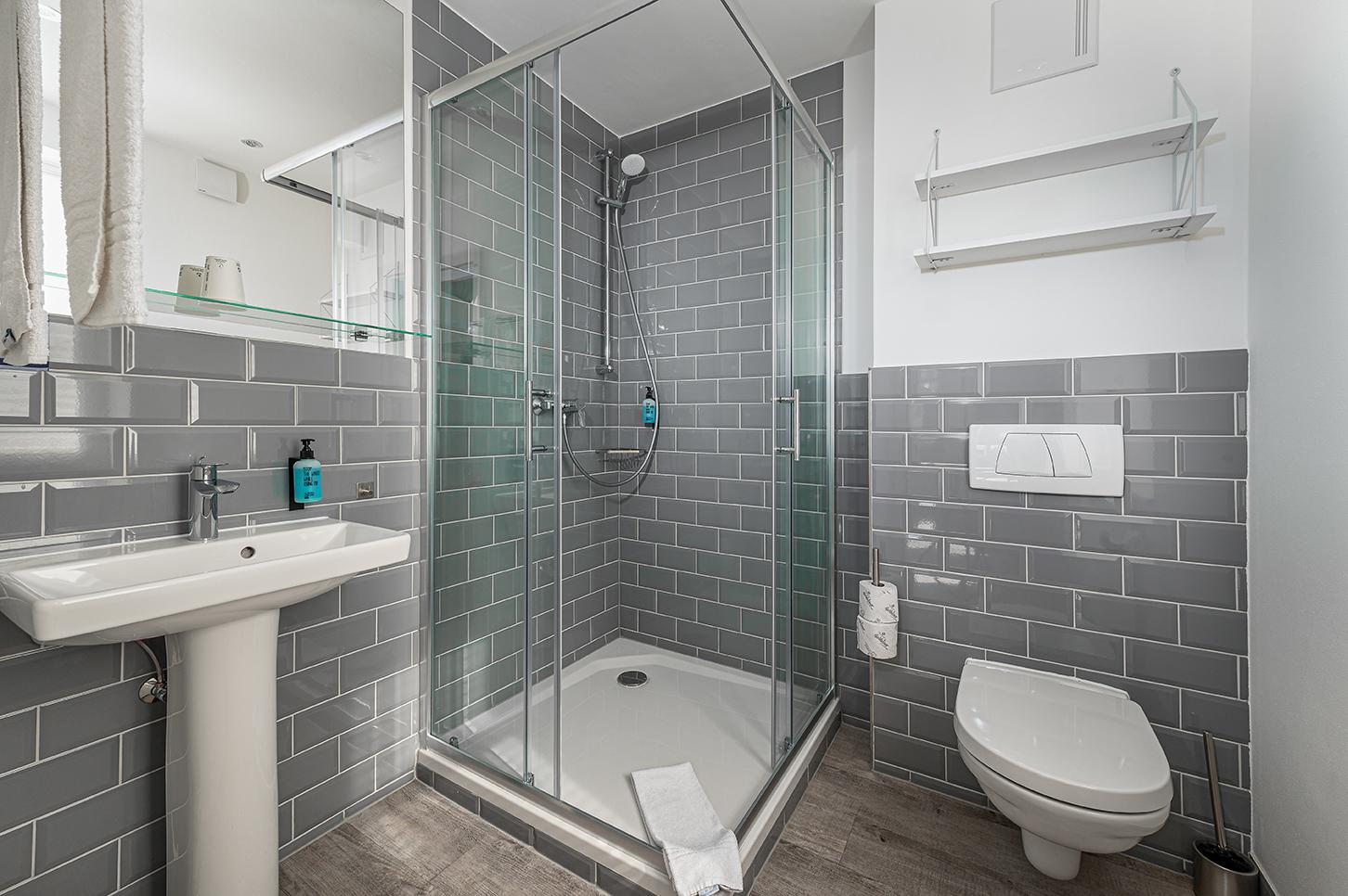 Hotel Das Q Badezimmer