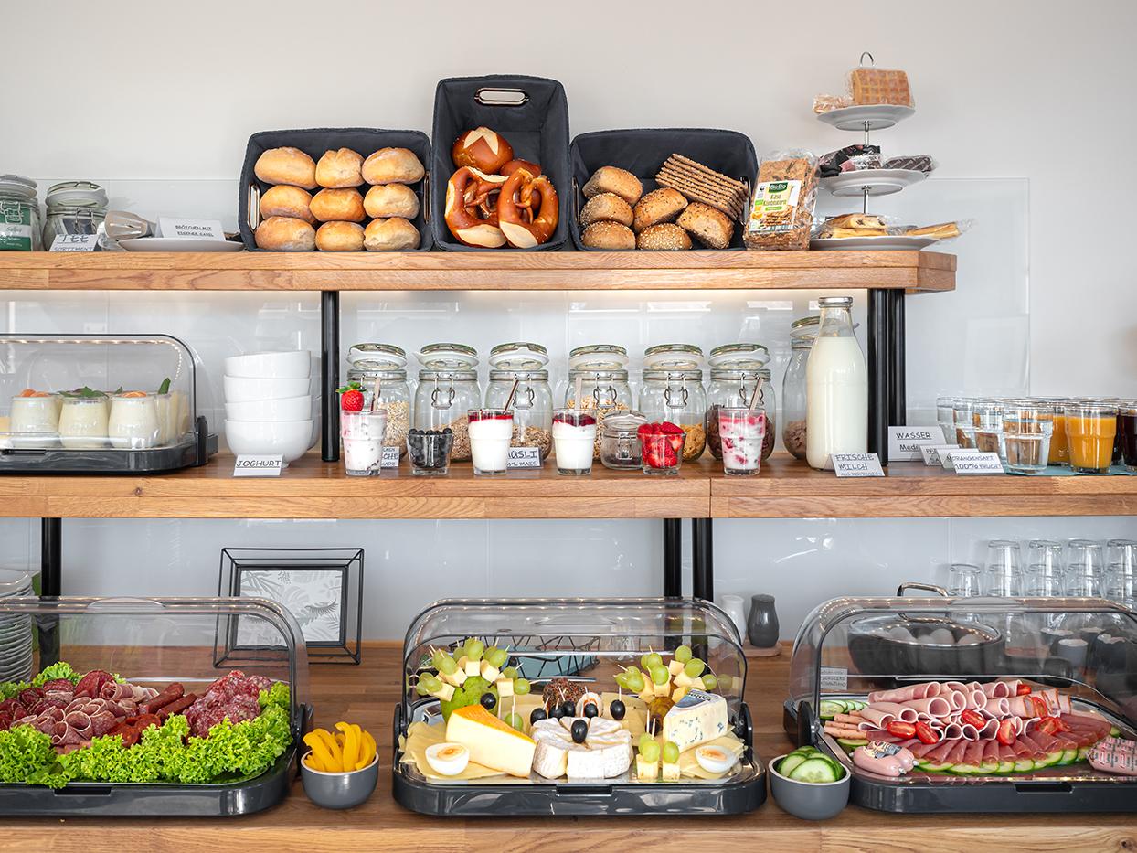 Hotel Das Q Frühstück